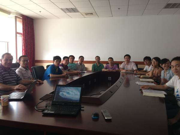 Professor N.Kasabov visit at the Shanghai JiaoTong University,China.