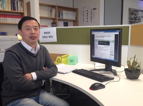 Prof. Ziku Wu from Qingdao Agricultural University, China.