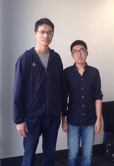 Liang Peng and Long Peng from CASIA